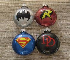 ornaments batman superman the flash and by thehappyhook