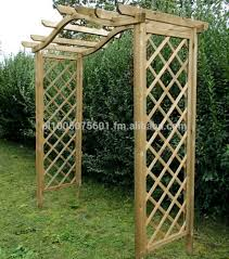 Metal Arches And Pergolas by Dover Wooden Arch Timber Arbour Pergola Buy Timber Arch