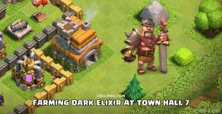 clash of clans farming guide tips for farming dark elixir at town hall 7 clash of clans land