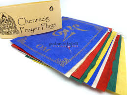 Prayer Flags Chenrezig Prayerflags Paper Malafactory Nepal Store