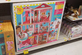 barbie dreamhouse barbie dreamhouse playset w 70 accessory pieces as low as 99 at