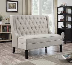 tuxedo oatmeal banquette bench dining room furniture pinterest