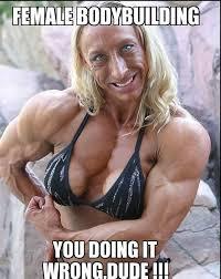 Muscle Woman Meme - brosciense com bodybuilding memes 40 brosciense health