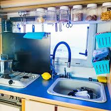 rv kitchen cabinet storage ideas 40 brilliant rv space saving solutions rvc outdoor