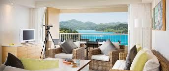 Reef View Hotel  Bedroom Terrace Suite Hamilton Island - Bedroom island