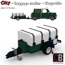 lego mini cooper custombricks de lego city anhänger fahrzeug trailer