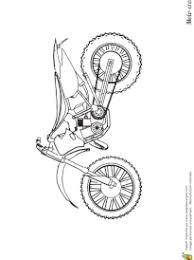 coloriage moto cross sur hugolescargot com