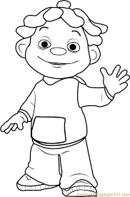 Sid The Science Kid Coloring Pages sid coloring page free sid the science kid coloring pages