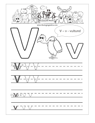 Worksheets For Kindergarten Printable Free Handwriting Worksheets For The Alphabet