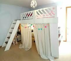 Best  Loft Bed Curtains Ideas On Pinterest Loft Bed - Loft bunk beds for girls