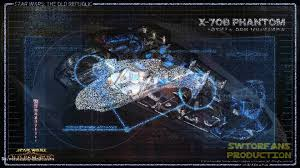 Star Wars Ship Floor Plans by Star Wars The Old Republic Ships X 70b Phantom Class