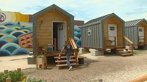 Tiny Homes Houston by Tiny Homes For Growing Homeless Population Cbs Denver