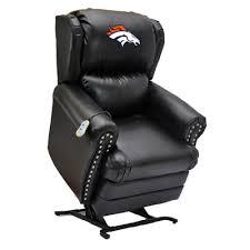 imperial football lift chair nfl team denver broncos massage