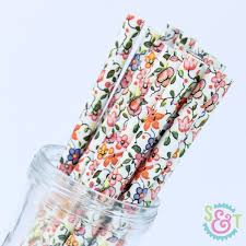 paper straws paper straws multicolor