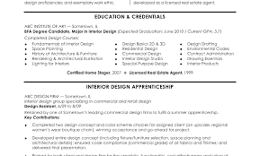 free sle resume format interior design resume exles australia intern free sles