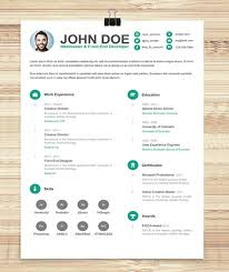 resume template free download creative 115 best free creative resume templates download