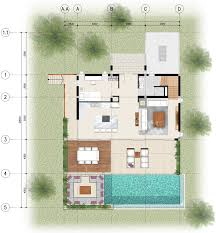 Bedroom Floorplan by 4 Bedroom Floor Plans Bay Villas Koh Phangan Koh Phangan