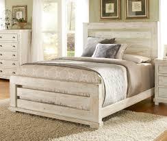 White Queen Anne Bedroom Suite Willow Slat Bedroom Set Distressed White Progressive Furniture