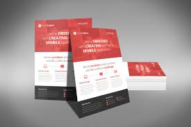 design flyer layout a professional and free flat design corporate flyer psd template