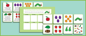 the very hungry caterpillar days of the week game free early