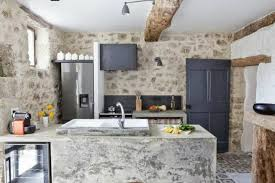 Stone On Walls Interior 43 Kitchen Design Ideas With Stone Walls Decoholic
