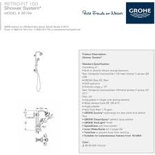 Grohe Faucet Installation Manual Grohe Shower Faucet Installation Instructions Best Faucets