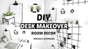 diy desk makeover organisation hacks room decor