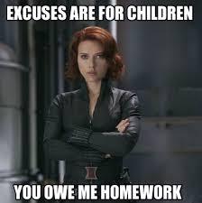 Black Widow Meme - make your bed unfuck your habitat