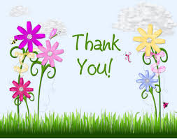 thank you flowers flower thank you cards bright colors digiscrap