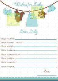 wishes for baby card boy baby shower wishes for baby boy
