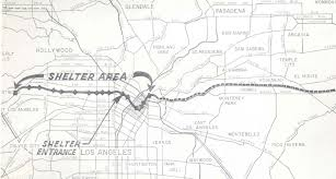 Metro Los Angeles Map by 50 Years Ago This Week Planning The El Monte U2013 Century City