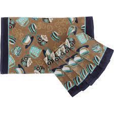 mainstays coffee kitchen towel set 6 walmart com