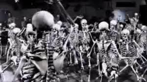 scary halloween gifs spooky scary skeletons youtube