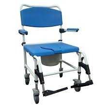 bariatric aluminum rehab shower commode chair mycare home medical