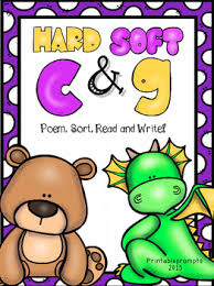 hard and soft c and gthis pack support phonics or word work