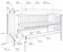 Convertible Crib Plans Build A Baby Crib Plans Baby And Nursery Furnitures
