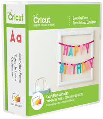amazon com cricut everyday font cartridge for craft