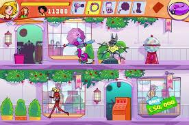 totally spies mall brawl free game girlsgogames