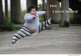 Fat Asian Baby Meme - no i must dance weknowmemes