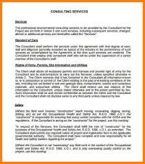 consulting contract template free 5 consulting contract templates