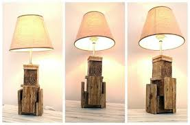 Make Wood Desk Lamp by How To Make A Wooden Lamp Creative Diy Wooden Lamp Design Ideas
