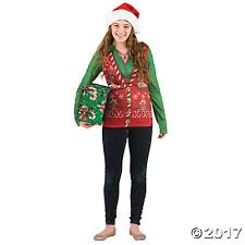 ugly christmas sweater vest t shirt