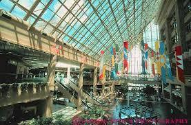Galleria Interiors Interior Galleria Enclosed Mall Louisville Kentucky Stock Photo 14126