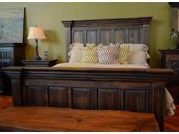 Vintage King Bed Frame Vintage Wyoming Wyoming Kingbed King Panel Bed Great American