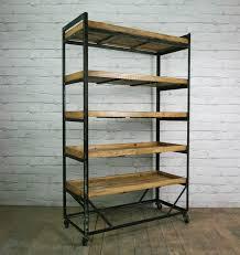Make Wood Bookshelf by Best 25 Metal Shelves Ideas On Pinterest Metal Shelving Metal