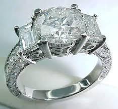 diamonds rings design images 3 stone design three stone ring design JPG