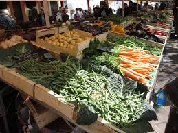 european markets the cours saleya market in frugal
