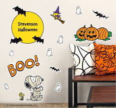 introducing peanuts wall decals at namebubbles com