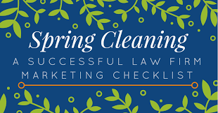 Spring Cleaning by Start Your Firm U0027s Spring Cleaning With This Marketing Checklist