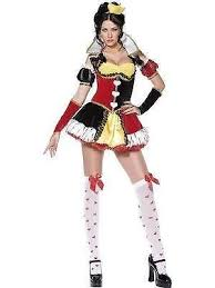 Cheap Size Halloween Costumes 3x Size Queen Hearts Costume Ebay